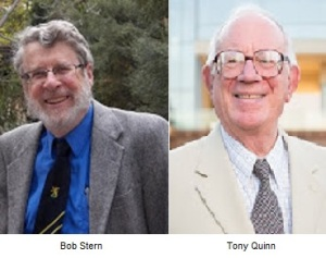 Bob Stern and Tony Quinn